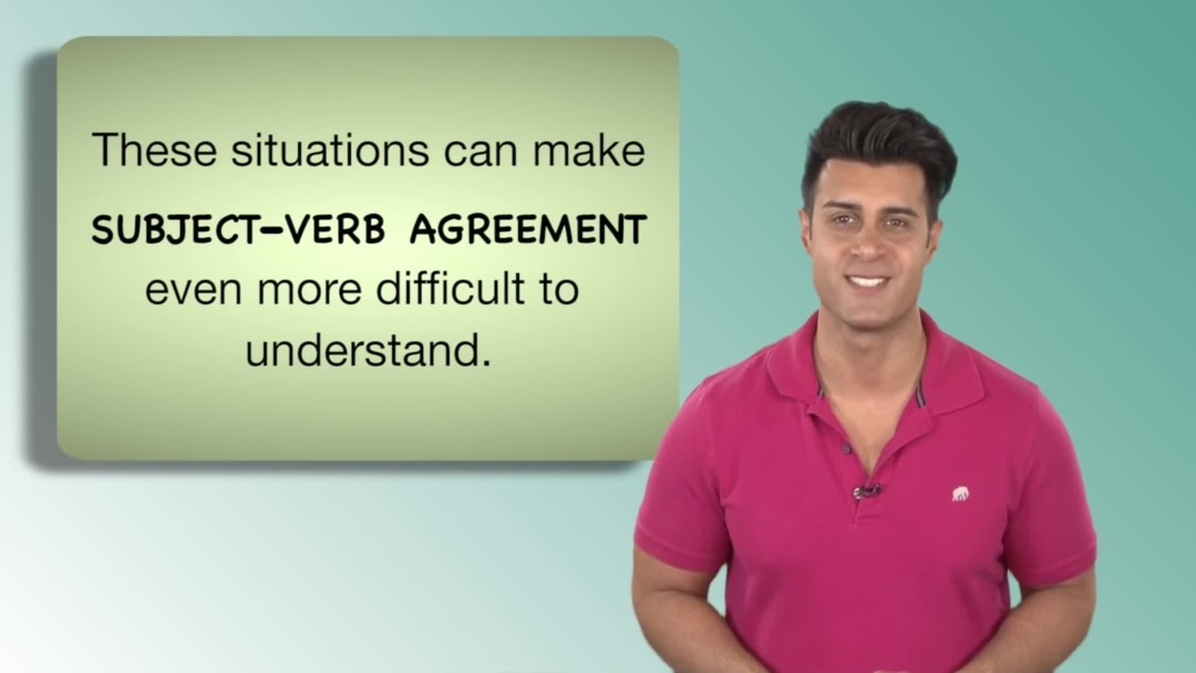Everyday Grammar Dodoes You Understand Subject Verb Agreement