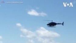 Un hélicoptère finit sa course dans le fleuve Hudson à New York
