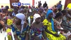 VOA60 Afirka: 'Yan Mata Sama Da 100 Da Aka Ceto Daga Hannun Boko Haram Suna Shirin Komawa Cikin Al'umma.