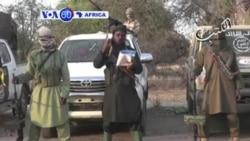 VOA60 Afirka: Abubakar Shekau Ya Aika Da Sakon Barazana Ga Gwamnatin Kamaru, Najeriya, Janairu 07, 2015