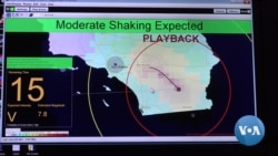 Los Angeles Showcases Quake Alert System