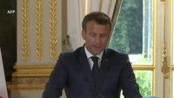 """Nucléaire : Macron appelle l'Iran à être """"patient et responsable"""""""