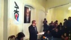 Milli Şura siyasi məhbuslara azadlıq tələb edir