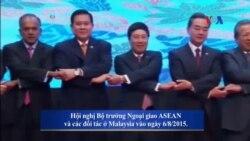 Philippines thúc giục ASEAN tăng áp lực để TQ tiến tới Bộ quy tắc Ứng xử Biển Đông