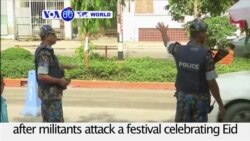 VOA60 World- Security tightens in Dhaka after militants kill 3 at festival celebrating Eid