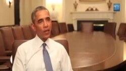 تبصرۀ اوباما در مورد آمادگی اش برای سخنرانی سالانه