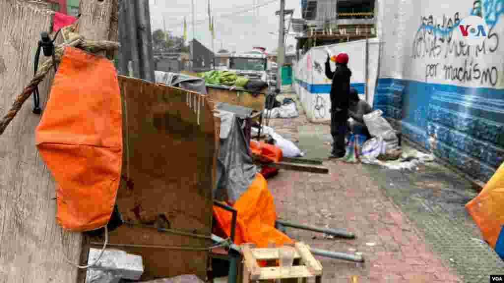 Durante la pandemia, dice que la falta de recursos provocó que se incrementara el número de personas que viven en las calles.