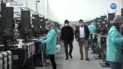 Diyarbakır'da Fabrikalar Sağlık İçin Çalışıyor