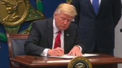Trump Signs Exec Order to 'Rebuild' Armed Forces