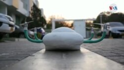 Un dron creado para transportar medicamentos