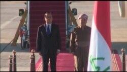 Fransa Cumhurbaşkanı Musul Cephesinde
