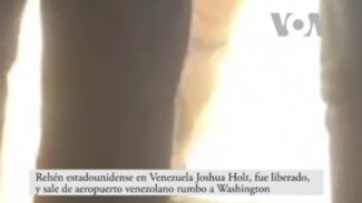 Rehén estadounidense en Venezuela fue liberado