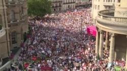 Brits Protest Trump Visit