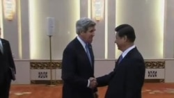 克里在中国磋商朝鲜问题
