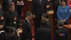 2017-03-13 美國之音視頻新聞: 香港民主派強烈抗議特首兼任政協副主席 (粵語)
