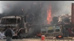 2013-09-03 美國之音視頻新聞: 塔利班份子攻擊美軍基地時被擊斃