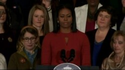 'I Will Stand By You Every Step of The Way' Michelle Obama Promises Young People in Final Speech