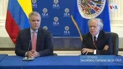 Almagro dijo que Colombia ha pagado el precio político, social y económico de la migración venezolana