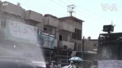 Իրաքում փողոցները վարակազերծելու նպատակով ջրցան մեքենա են օգտագործում