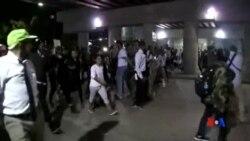 2016-09-23 美國之音視頻新聞: 夏洛特市宣布實施宵禁以阻止抗議活動