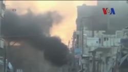 Suriye Hükümeti Varil Bombalarıyla Saldırıyor