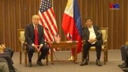 Trump ve Duterte'nin 'Sıcak' Görüşmesi