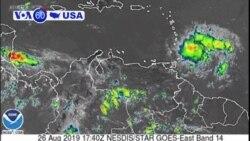 Manchetes Americanas 28 Agosto: Porto Rico em alerta devido a tempestade tropical