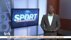 Rubrique Sport avec Yacouba