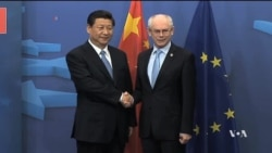 On EU Visit, Chinese President Caught Up in Ukraine Dilemma