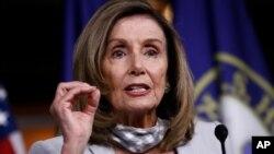 Chủ tịch Hạ viện Hoa Kỳ Nancy Pelosi.