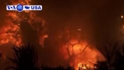 Manchetes Americanas 13 Novembro: Incêndios na Califórnia já mataram 44 pessoas