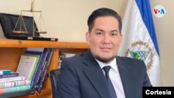 Yader Morazán, extrabajador del Poder Judicial de Nicaragua. Foto cortesía.