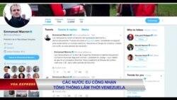 Các nước EU công nhận Juan Guaido là Tổng thống lâm thời Venezuela