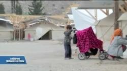 Çadırlarda Yaşayan Mültecileri Kış Korkusu Sardı