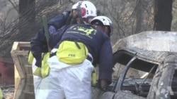 加州火灾搜救工作仍在继续