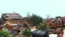 奥克拉荷马救灾人员应对龙卷风的打击