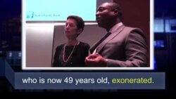 Học từ vựng qua bản tin ngắn: Exonerated (VOA)