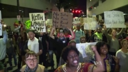 Charlotte Protests Over Police Killing Mostly Peaceful on Third Night