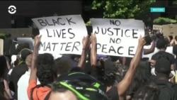 Участники акций протеста в США нашли поддержку за рубежом