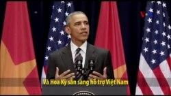 TT Obama: 'VN sẽ bớt lệ thuộc hơn vào một đối tác thương mại nhờ TPP'