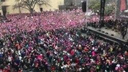 تظاهرات زنان در واشنگتن
