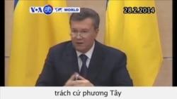 TT Ukraina bị lật đổ trách cứ phương Tây (VOA60)