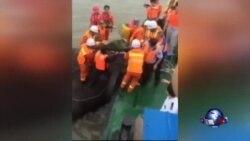 中国长江船难家属不满当局应急工作