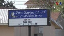 Comunidad de Sutherland Springs intenta recuperar la normalidad
