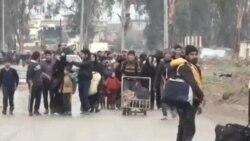 داعش از شهروندان به عنوان سپر دفاعی در موصل استفاده میکند