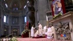2015-04-12 美國之音視頻新聞:教宗主持彌撒紀念亞美尼亞大屠殺一百週年