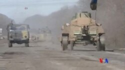 2015-02-25 美國之音視頻新聞: 烏克蘭稱反政府武裝攻擊明顯減少