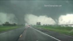 Tornados gemelos en Nebraska