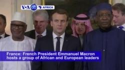 VOA60 Africa - Africa, EU Leaders Add Funding, Urgency to Fight Sahel Jihadists