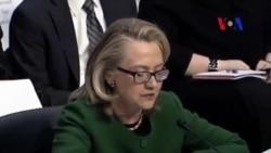 Clinton Bingazi Olayını Soruşturan Kongre Üyelerine Sert Çıktı
